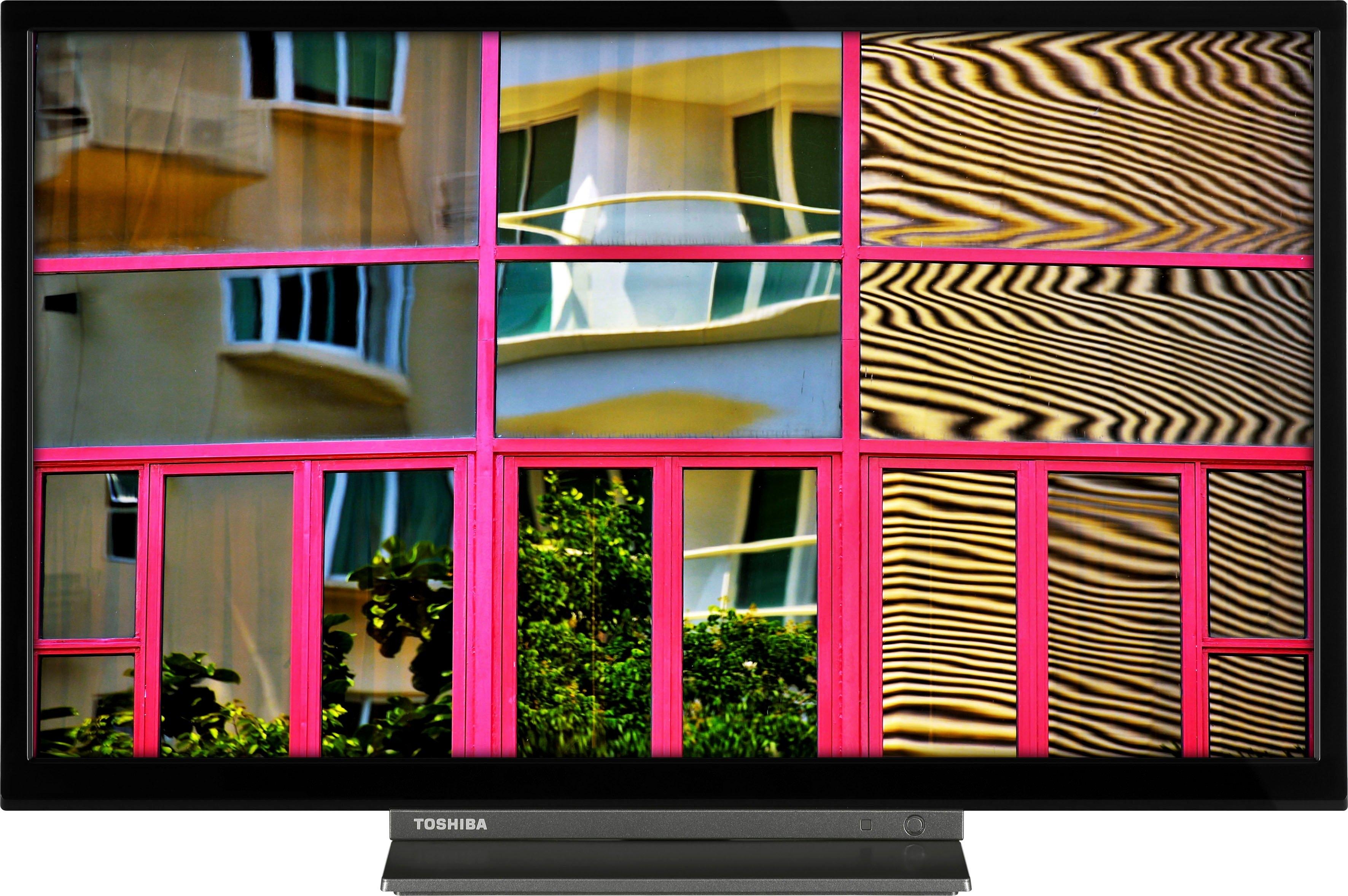Toshiba LED-TV 24WL3C63DA, 60 cm / 24