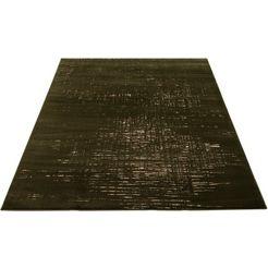 vloerkleed, »ariano«, home affaire collection, rechthoekig, hoogte 12 mm, machinaal geweven groen