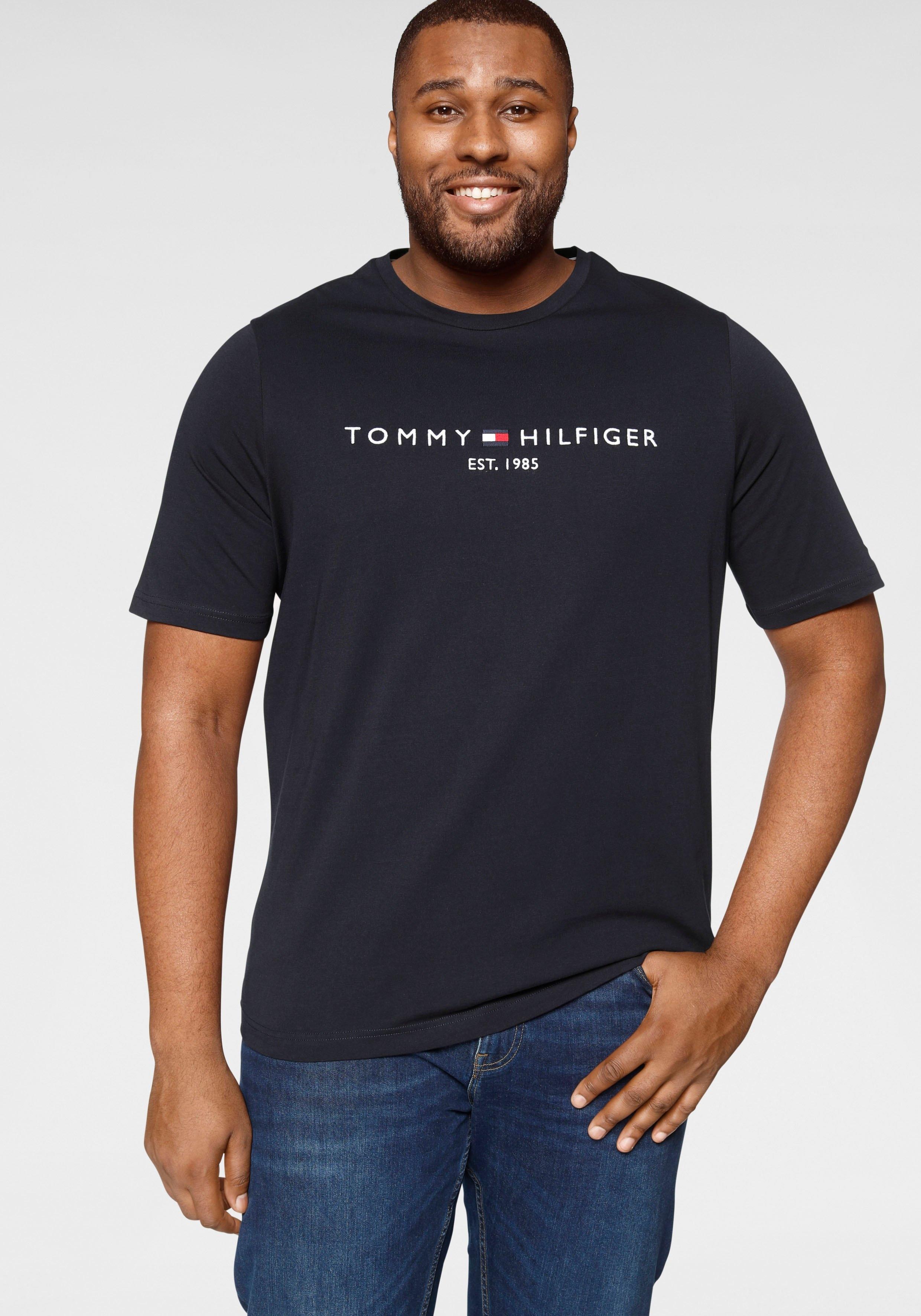Tommy Hilfiger T-shirt BT- TOMMY LOGO TEE online kopen op otto.nl