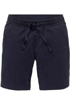 tommy hilfiger sweatshort bt-signature sweatshort blauw
