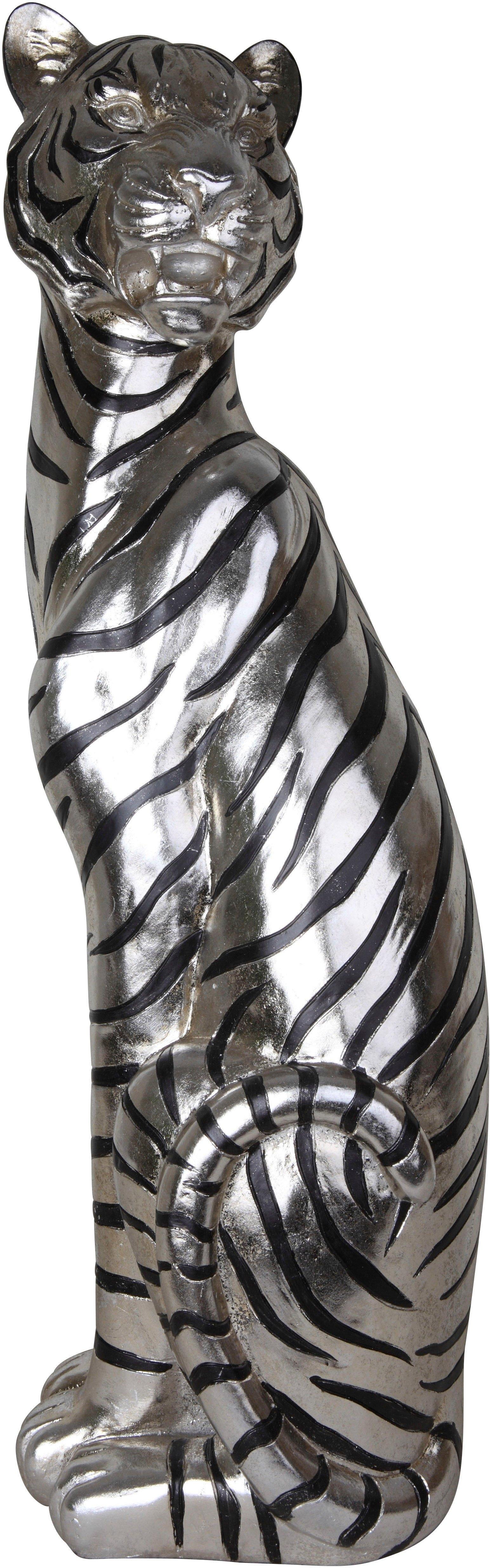 Leonique decoratief figuur Zittende tijger nu online kopen bij OTTO