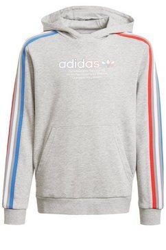 adidas originals hoodie »adicolor« grijs