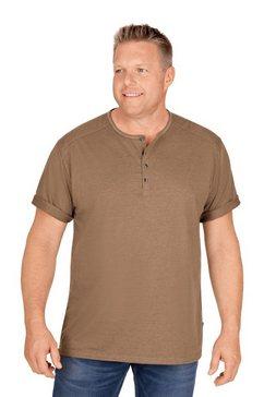 trigema t-shirt bruin