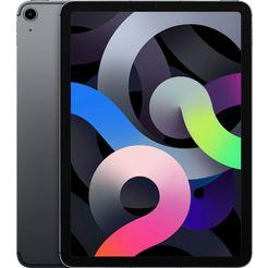 "apple tablet ipad air (2020) wi-fi 64gb, 10,9 "", ipados, inclusief oplader grijs"