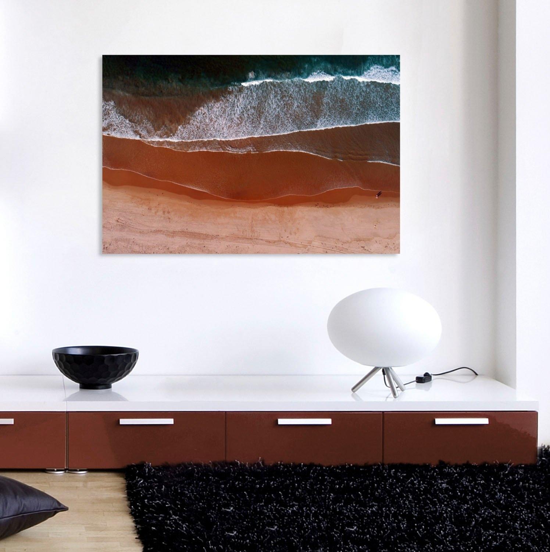 queence artprint op acrylglas Strand - gratis ruilen op otto.nl