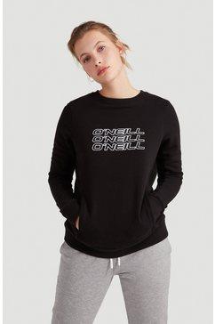 o'neill sweatshirt »triple stack« zwart