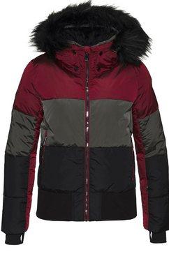 luhta ski-jack »ekholm« rood