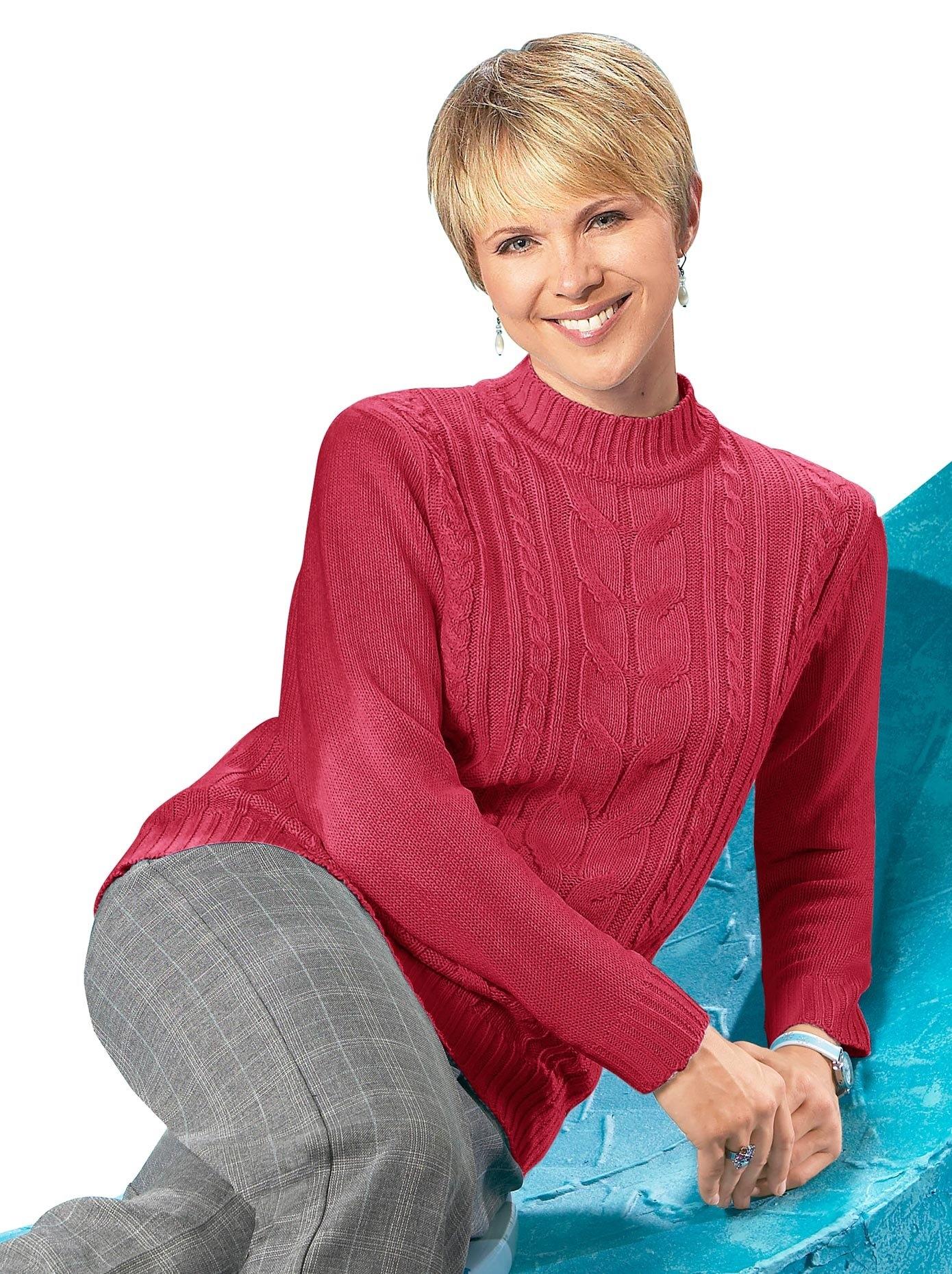 Classic Basics trui met staande kraag Trui bij OTTO online kopen