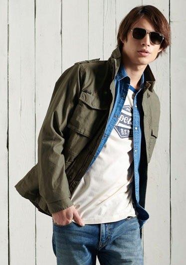Superdry Field-jacket CLASSIC ROOKIE JACKET bij OTTO online kopen