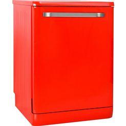 sharp »qw-d41f472r-de« vaatwasser rood