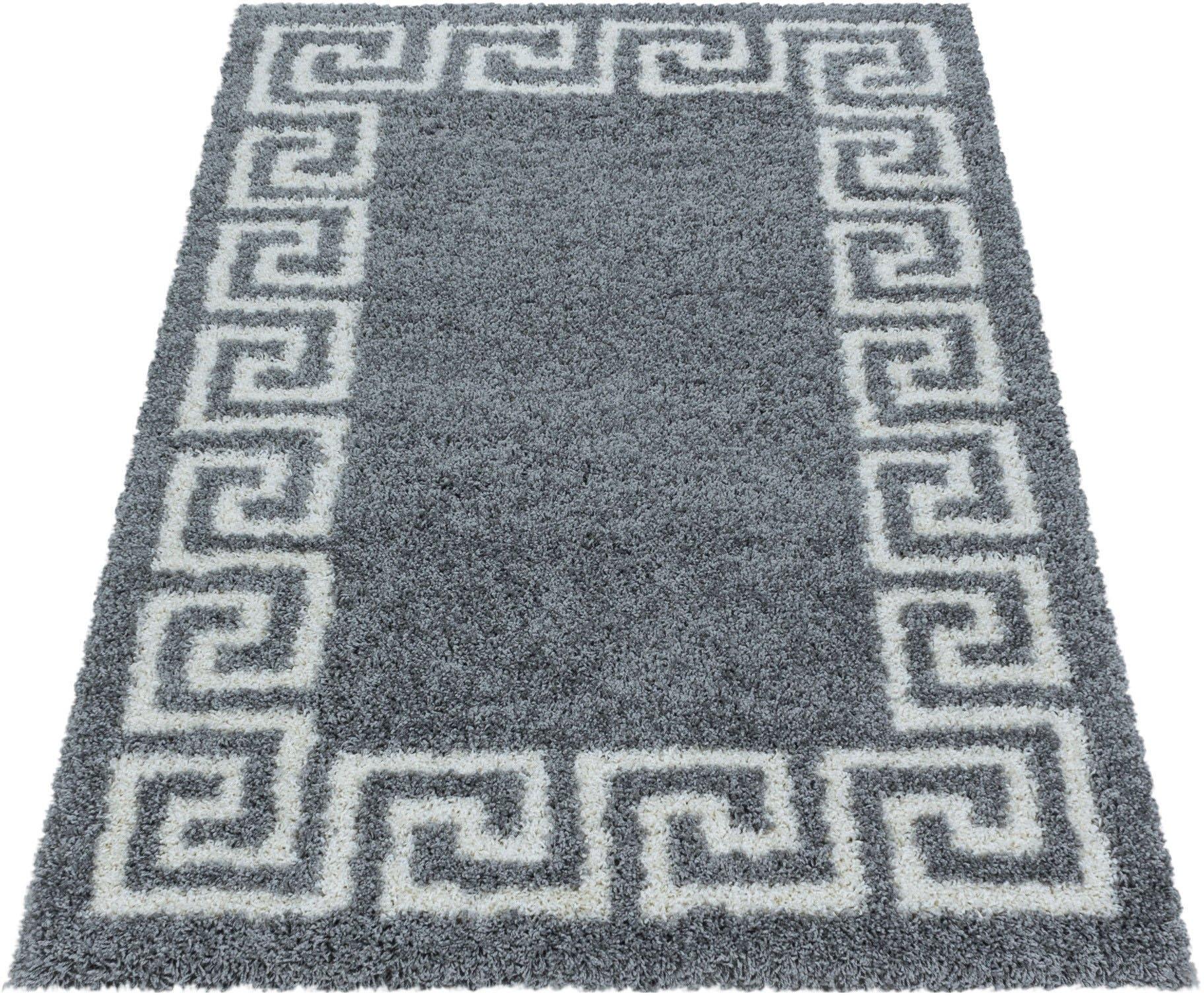 Ayyildiz Teppiche Hoogpolig vloerkleed HERA 3301 Woonkamer voordelig en veilig online kopen