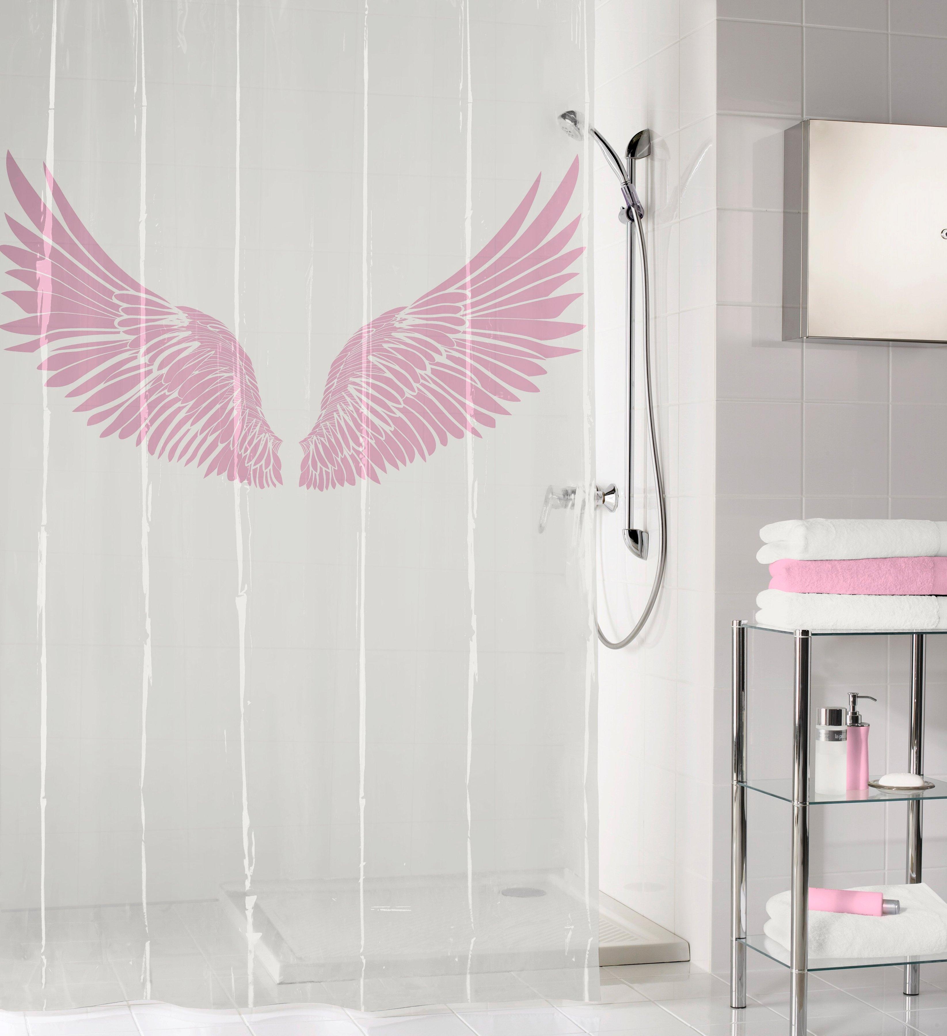 Kleine Wolke douchegordijn Wings Hoogte 200 cm in de webshop van OTTO kopen