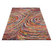 hoogpolig vloerkleed »sixteen face« oci die teppichmarke, rechthoekig hoogte 25 mm machinaal geweven multicolor