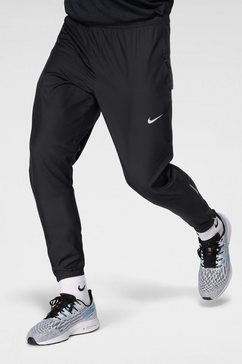 nike runningbroek »men's woven running pants« zwart