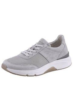 gabor rollingsoft sneakers met sleehak in een sportief design grijs