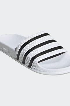 adidas originals badslippers »adilette« wit