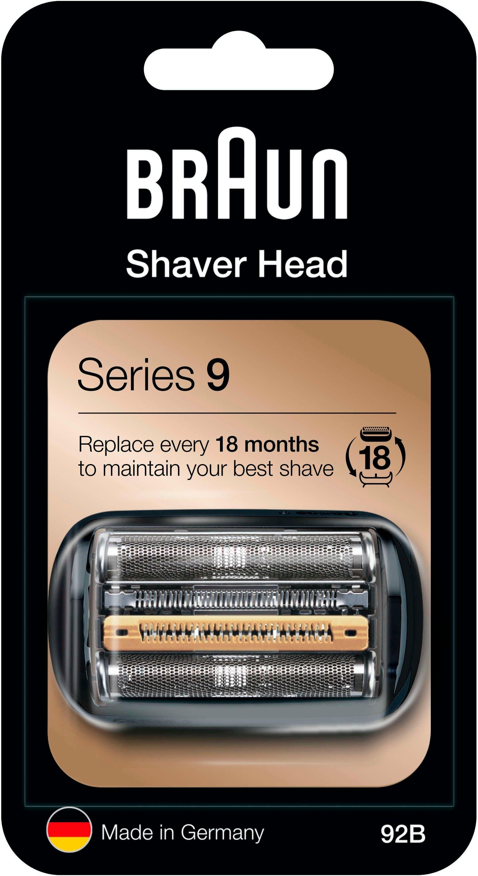 Braun reserveonderdeel 92 B, zwart, compatibel met Series 9 scheerapparaten in de webshop van OTTO kopen