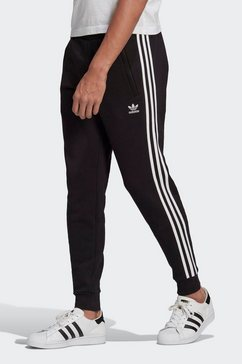 adidas originals joggingbroek »3-stripes pant« zwart