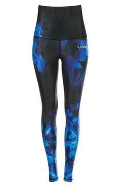 winshape legging highwaist hwl102 met compressie-effect blauw