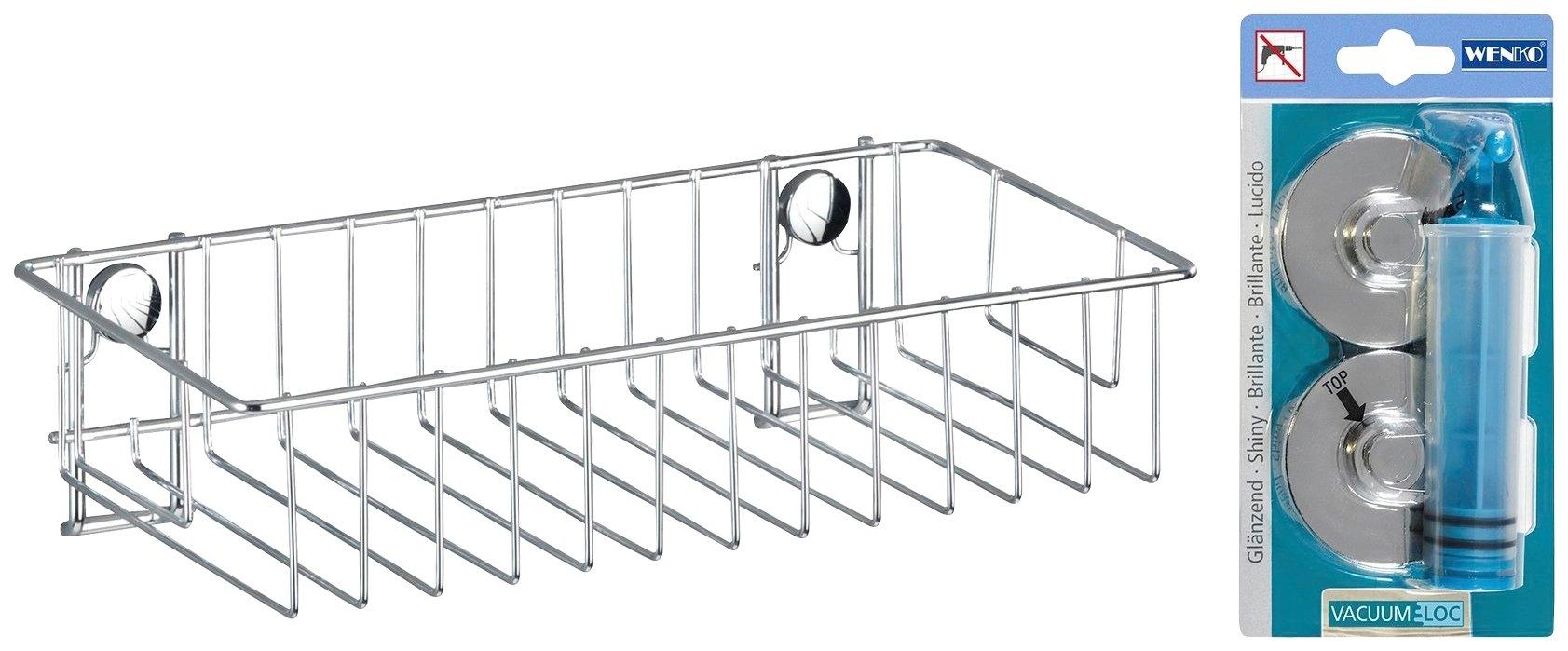 WENKO Doucherekje Classic Bxdxh: 23,5x13,5x10,5 cm voordelig en veilig online kopen