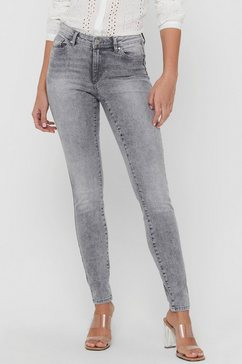only skinny fit jeans »onlwauw« grijs