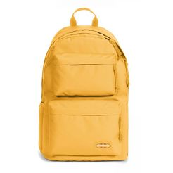eastpak laptoprugzak padded double, sunset yellow geel