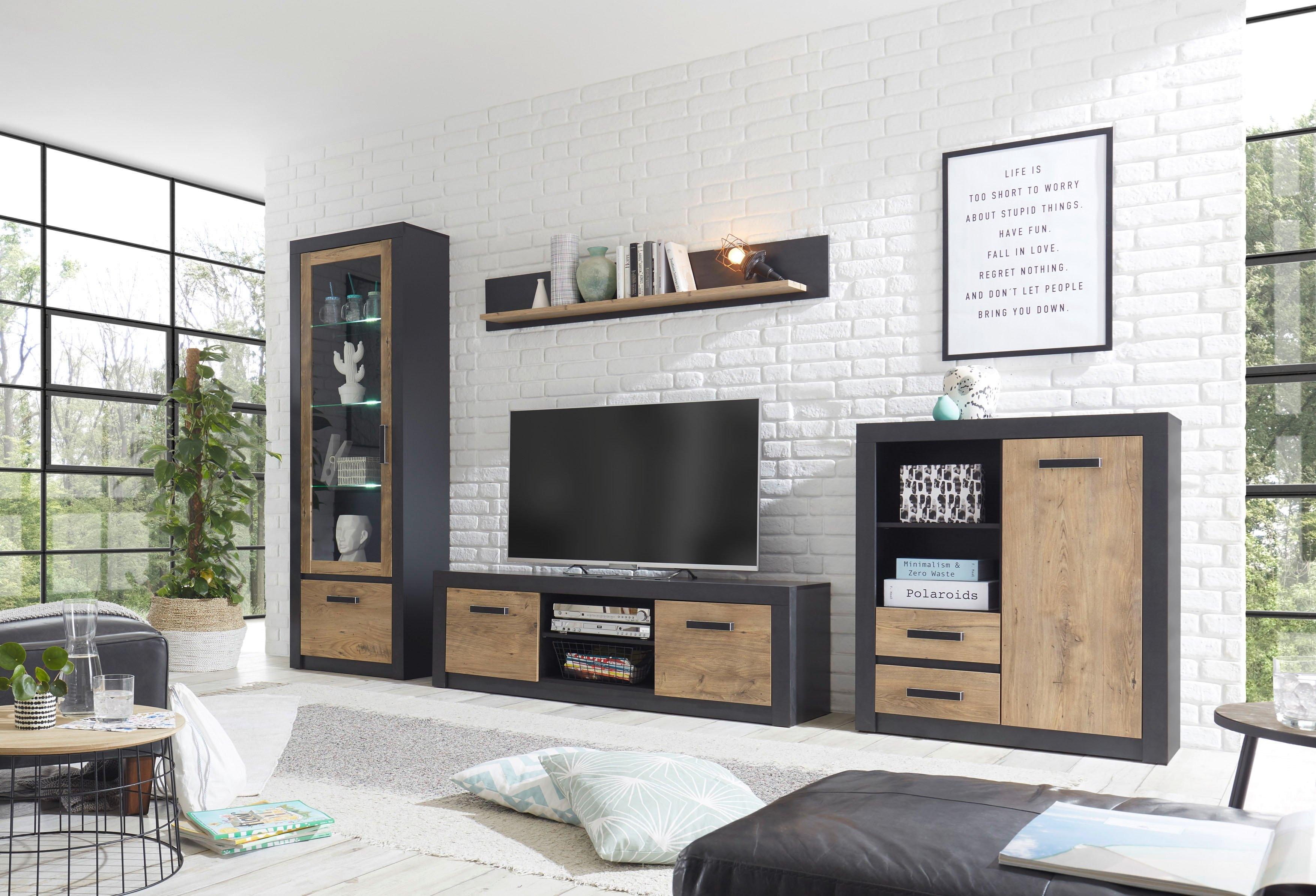 my home wandmeubel BRÜGGE Met een decoratieve frame-look (set, 4 stuks) - verschillende betaalmethodes