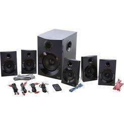 logitech »z607« surround-luidspreker zwart
