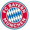 wall-art wandfolie fc bayern muenchen logo (1 stuk) multicolor