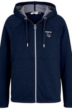 tom tailor sweatshirt blauw