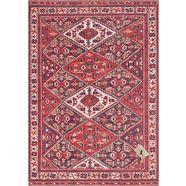 elle decor vloerkleed »afghan kelim«, elle decor, rechthoekig, hoogte 5 mm, machinaal geweven rood