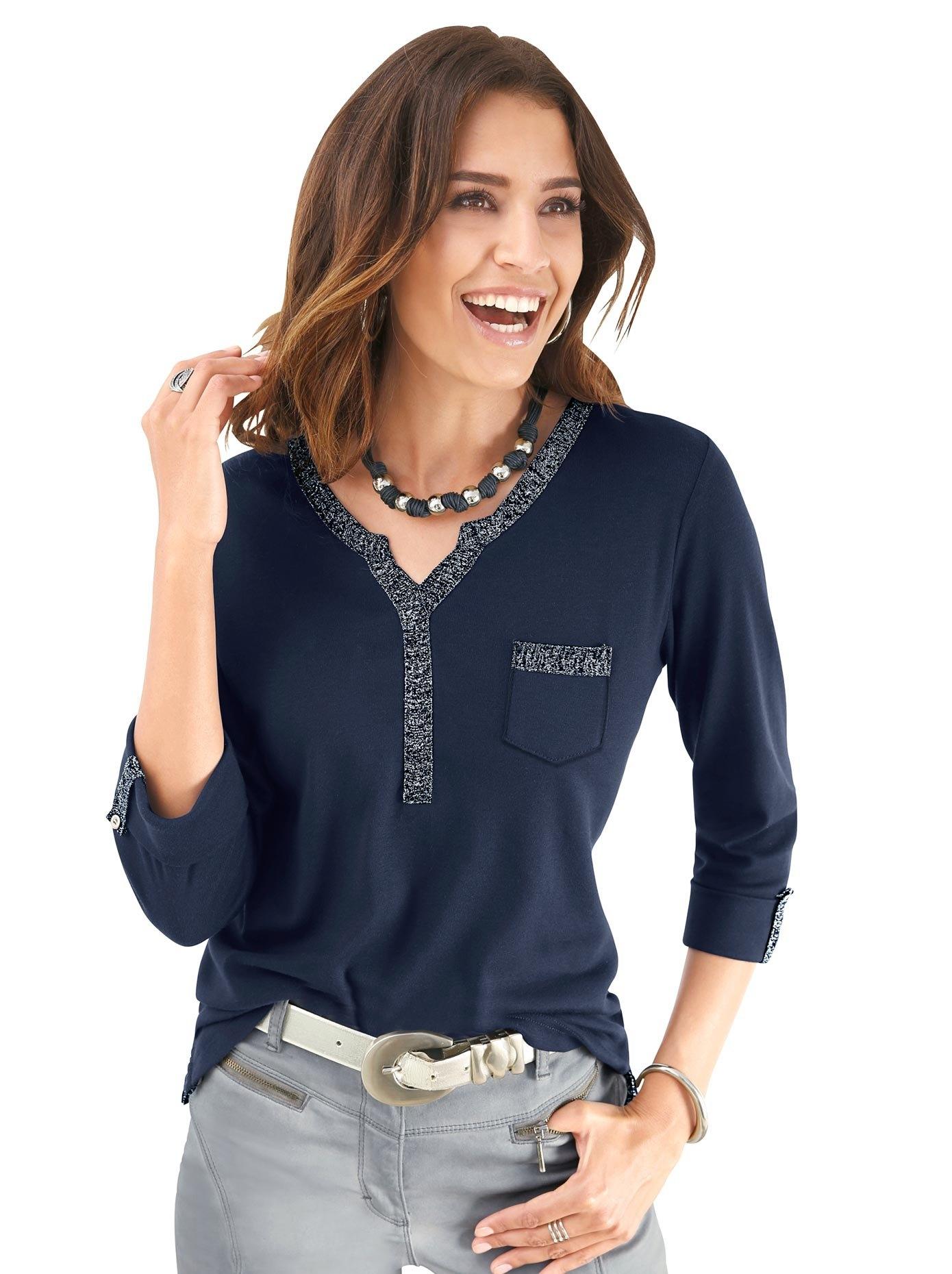 Alessa W. Shirt met 3/4-mouwen nu online kopen bij OTTO