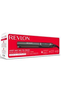 revlon straightener rvst2175 125 mm lange, afgeronde, beweegbare bladen in 10 seconden klaar voor gebruik zwart