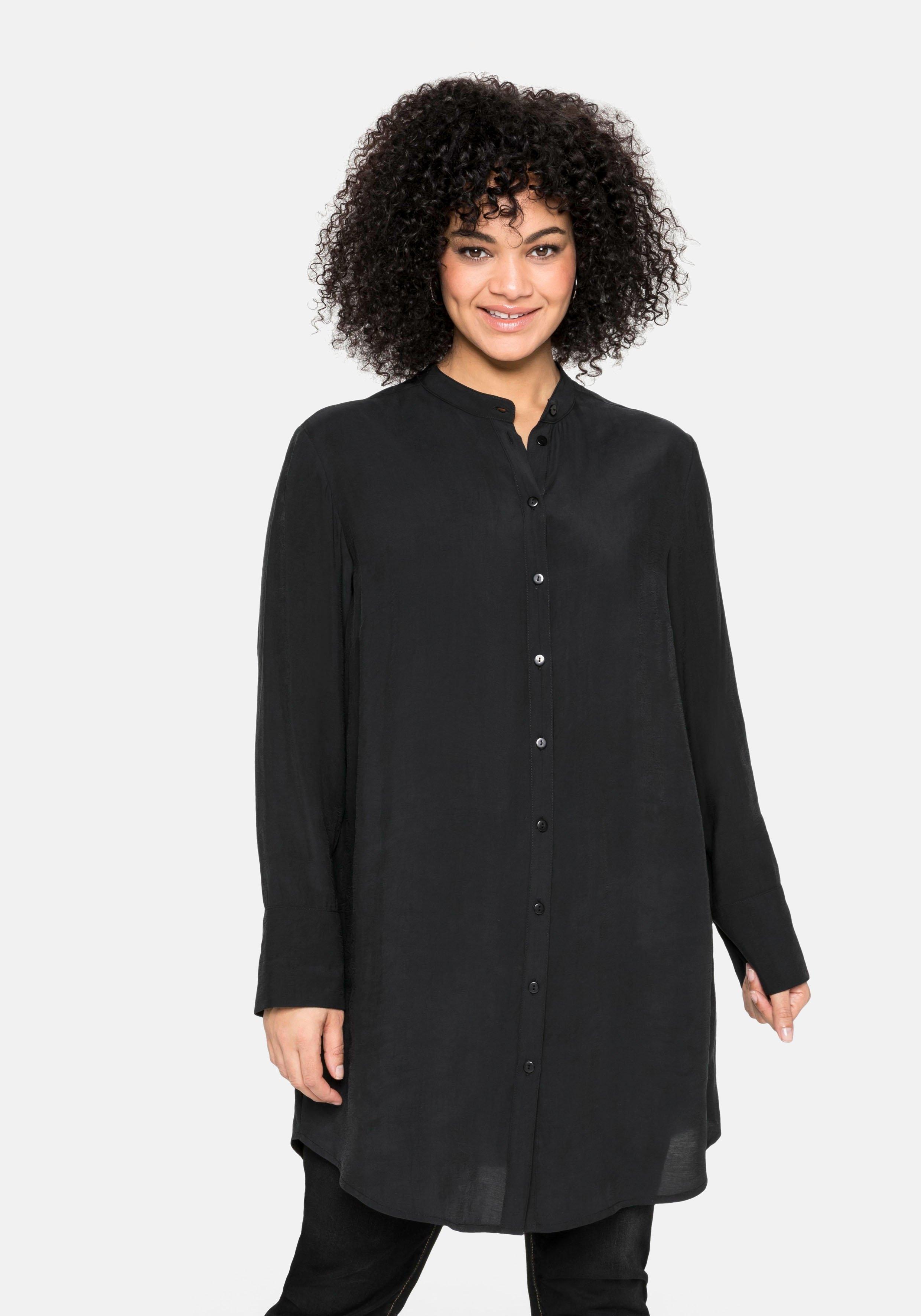 Sheego lange blouse met plooi achter bij OTTO online kopen