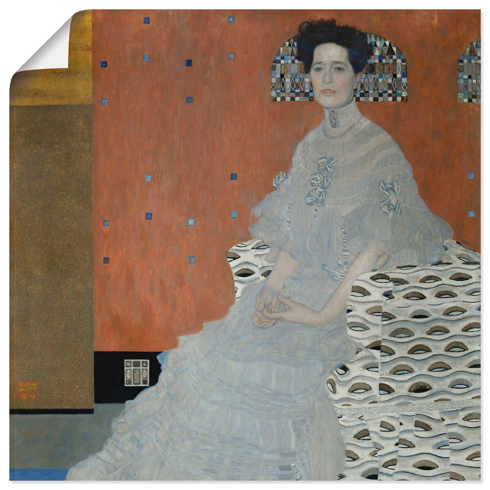 Artland artprint Fritza Riedler in vele afmetingen & productsoorten -artprint op linnen, poster, muursticker / wandfolie ook geschikt voor de badkamer (1 stuk) voordelig en veilig online kopen