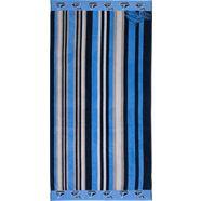 goezze strandlaken strepen (1 stuk) blauw