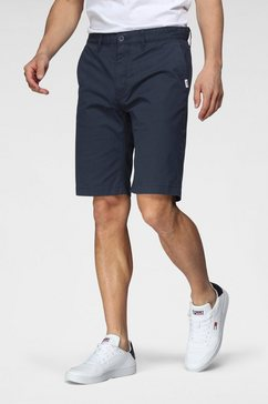 tommy jeans chino-short tjm ethaan short blauw