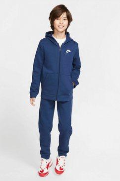 nike sportswear joggingpak boys nsw track suit core (set, 2-delig) blauw