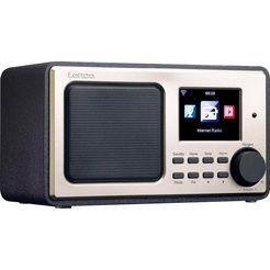 lenco »dir-110« internetradio zwart