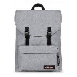 eastpak laptoprugzak london+, sunday grey bevat gerecycled materiaal (global recycled standard) grijs