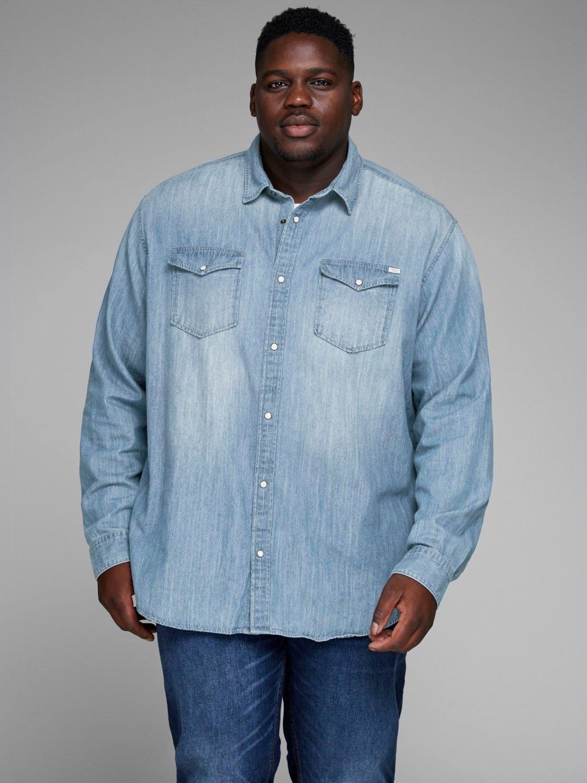 Jack & Jones jeansoverhemd »HERIDAN SHIRT« nu online bestellen