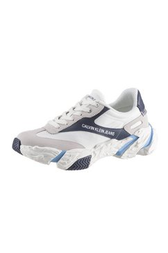 calvin klein plateausneakers »sigma« wit