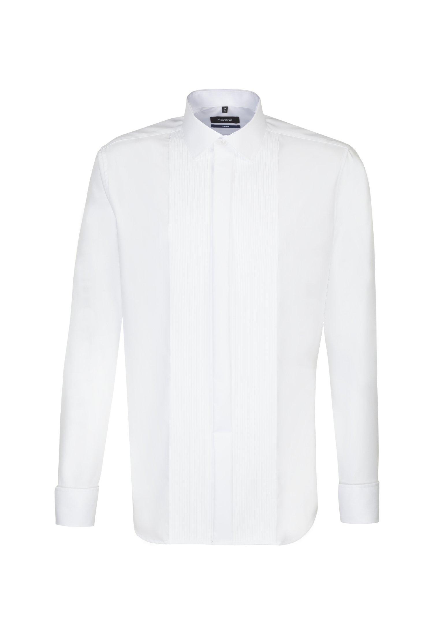 seidensticker smokingoverhemd Shaped Shaped lange mouwen kentkraag uni goedkoop op otto.nl kopen