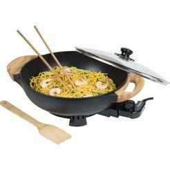 bestron »aew100as« elektrische wokpan zwart