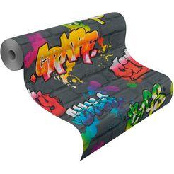 rasch papierbehang »kids  teens iii« multicolor