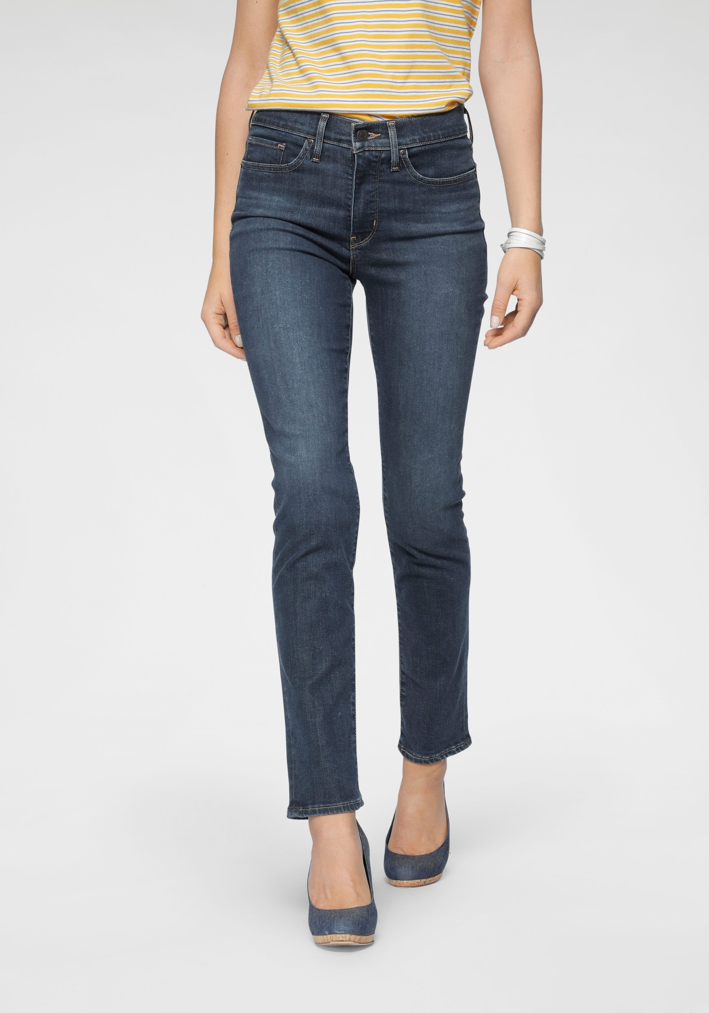 Levi's skinny jeans 312 Shaping Slim Smal shaping slim model voordelig en veilig online kopen