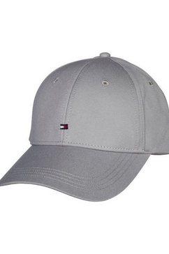 tommy hilfiger baseballcap »classic bb cap« grijs