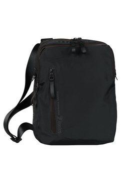 tom tailor denim schoudertas davi in een eenvoudige look zwart