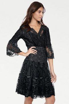 ashley brooke by heine kanten jurk zwart