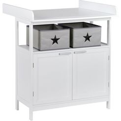 roba commode »hamburg, weiss« wit